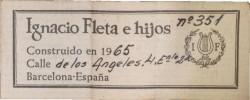 fleta-1965-label