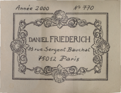 friedrich-2000-label