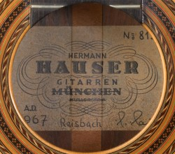 hauser-1967-label
