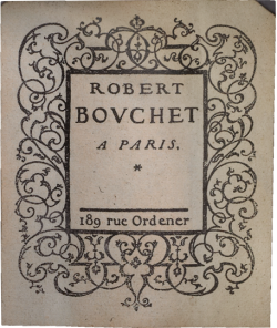 bouchet-1968-label