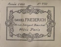 friedrich-2000-label