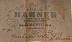 hauser-1948-label
